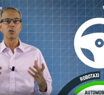 VIDEO SFIDA – ROBOTAXI BUSINESS DELL'AUTO A GUIDA AUTONOMA
