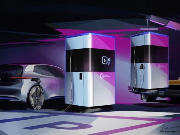 Volkswagen power bank mobile per auto elettriche