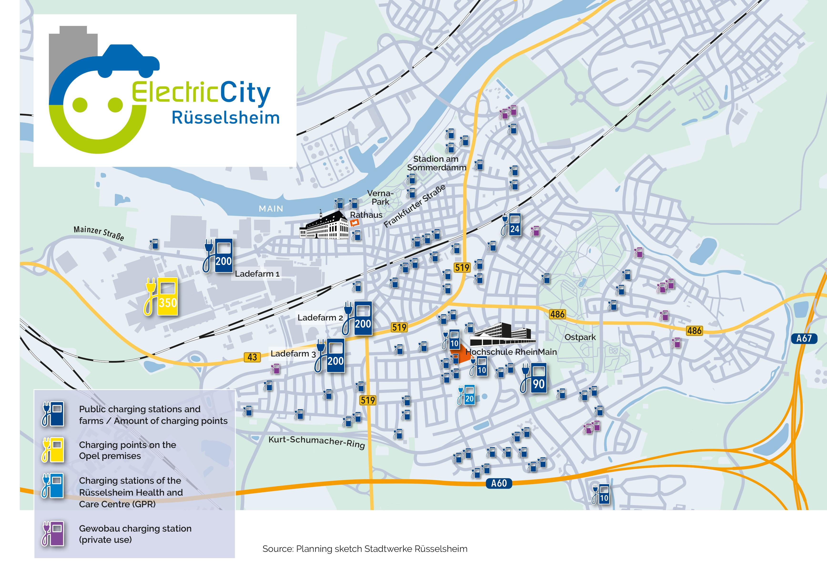 La Città della Opel diventa elettrica