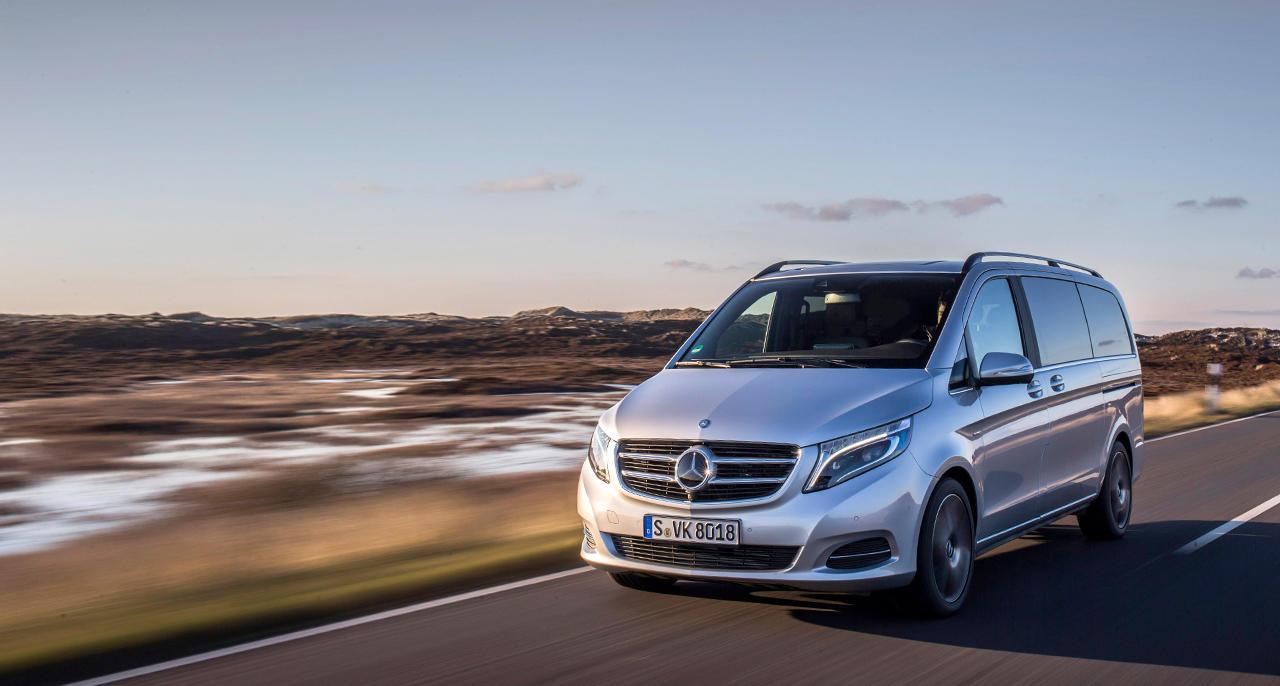 Mercedes prepara il van elettrico Classe V