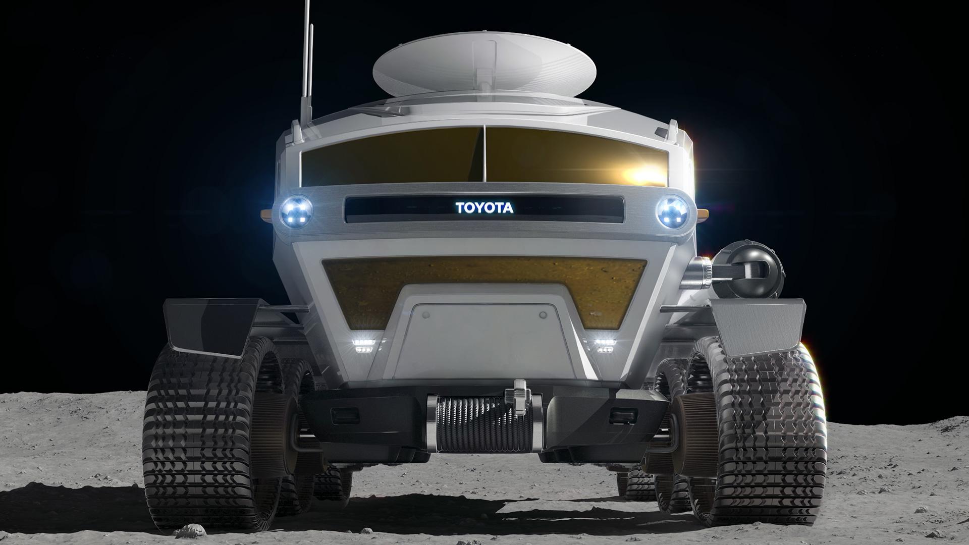 Toyota veicolo lunare a idrogeno con celle a combustibile