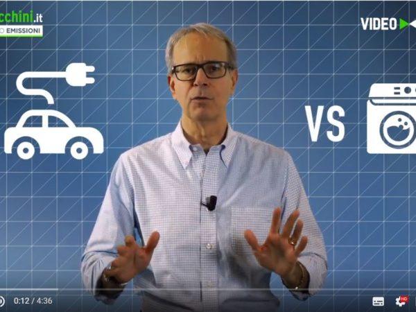 L'AUTO ELETTRICA E' UNA LAVATRICE CON QUATTRO RUOTE? – VIDEO SFIDA