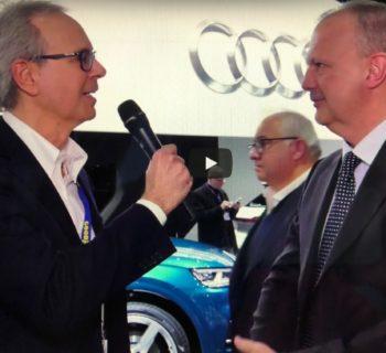Auto ibrida Plug-in per arrivare all'elettrico puro Fabrizio Longo Direttore Audi Italia – video opinione