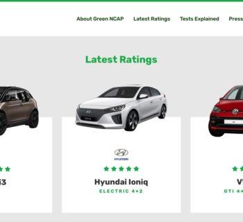 Cos'è e a cosa serve Green NCAP il test ambientale indipendente per auto