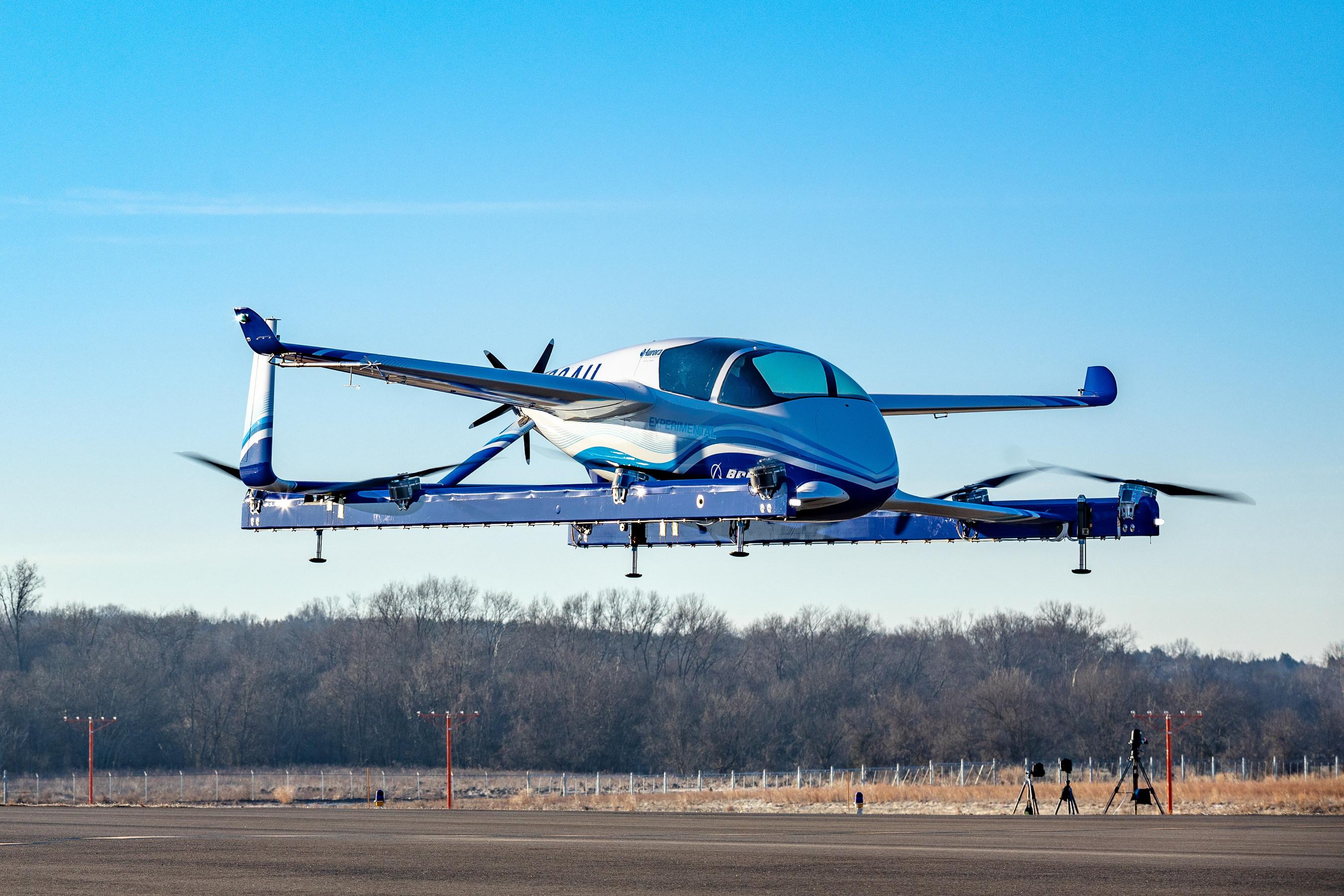 La Boeing prepara l'aereo elettrico il primo test è un successo