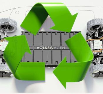 Riciclo batterie al litio per auto Volkswagen inizia la corsa industriale