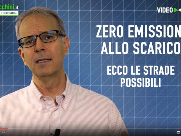 Zero Emissioni allo scarico le strade possibili
