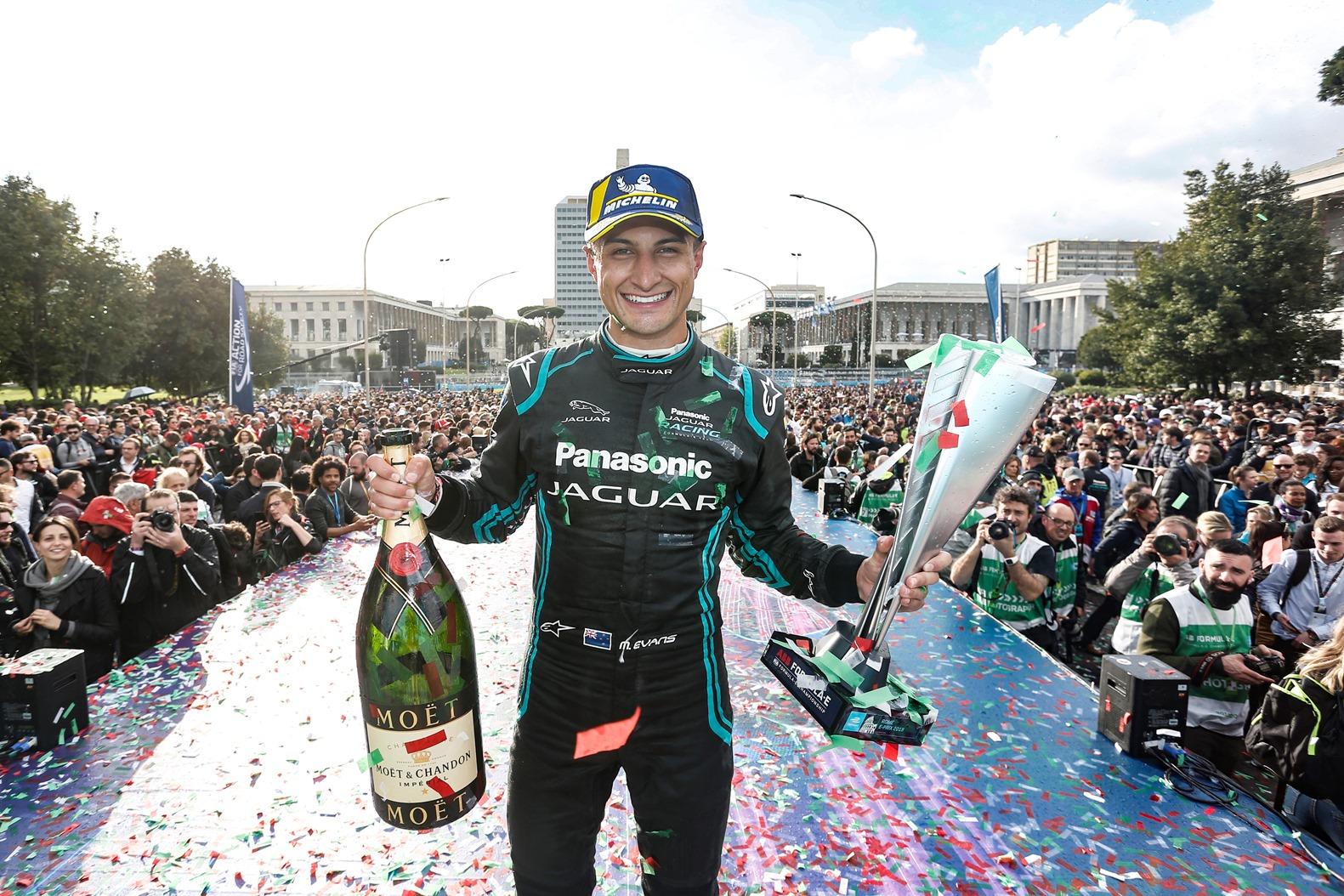 Formula E Roma e-Prix vince la Jaguar