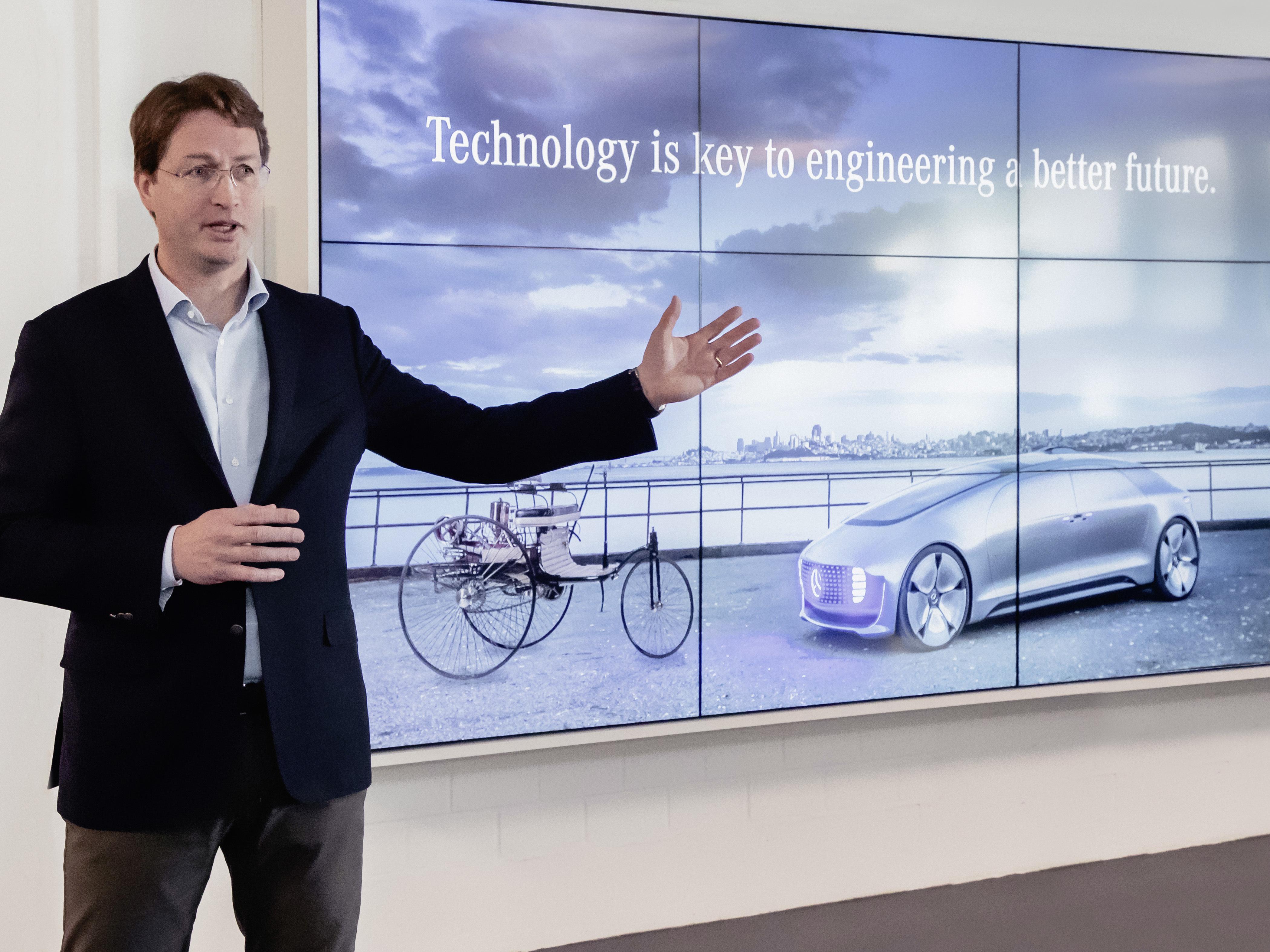 Mercedes gamma a impatto zero nel 2039