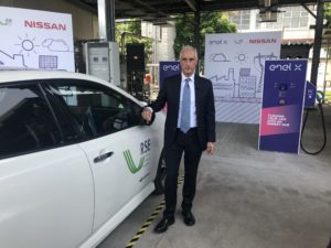 Bruno Mattucci Nissan Leaf vehicle to grid