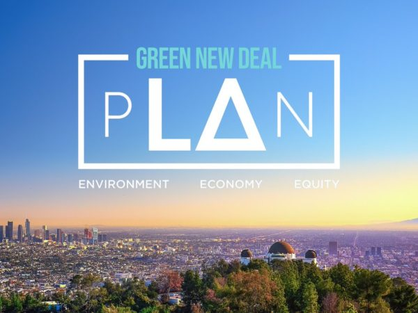 Los Angeles lancia il suo Green New Deal