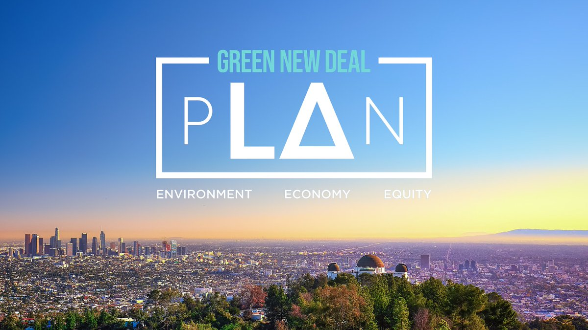 Los Angeles lancia il suo Green New Deal