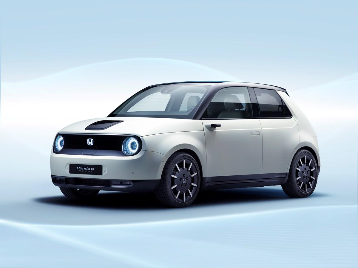 Honda e, il nuovo inizio. Elettrificazione al 100% entro il 2025