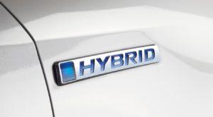 Honda Jazz Hybrid scritta