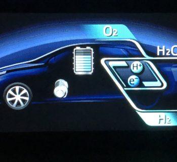 Auto a idrogeno con celle a combustibile – Come funziona