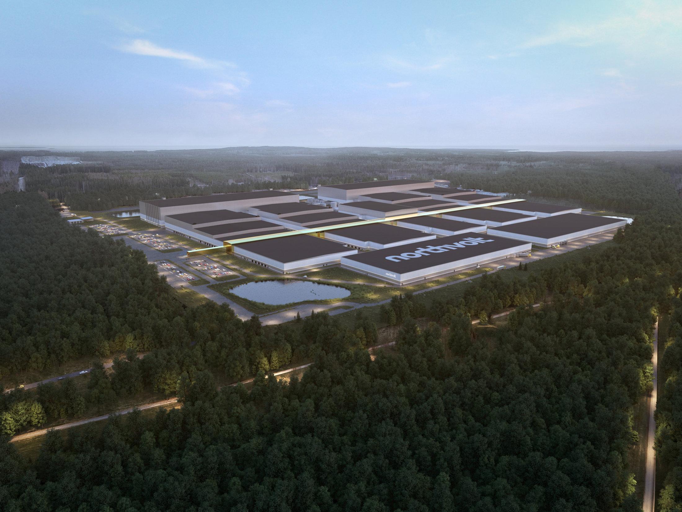 Volkswagen e Northvolt, prende corpo la grande industria europea delle batterie