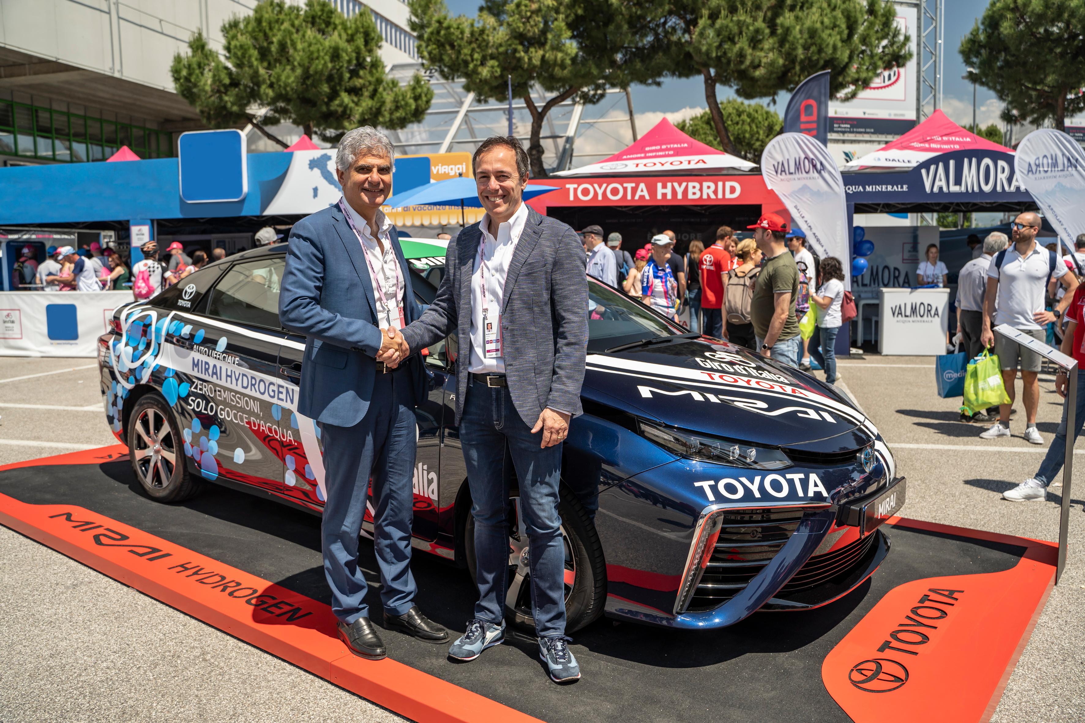 Toyota ed ENI, accordo per una stazione ad idrogeno