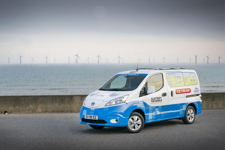 Nissan, le emissioni zero sono un gelato da servire freddo