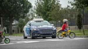 Ford Mondeo guida autonoma