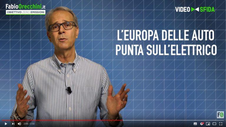 Video Europa sceglie l'auto elettrica