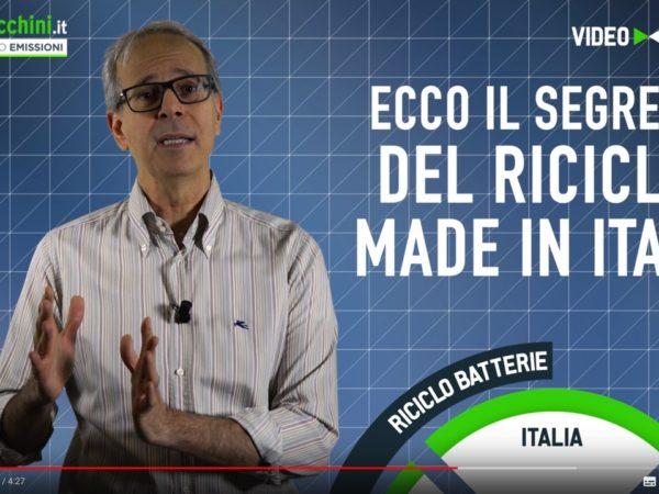Ecco il segreto del Riciclo Made in Italy delle Batterie al Litio