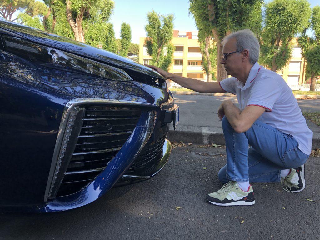 Toyota Mirai a idrogeno, un'auto del futuro - La mia prova faccia a faccia
