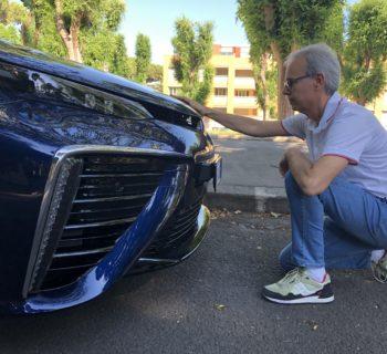 Toyota Mirai a idrogeno, un'auto del futuro – La mia prova faccia a faccia