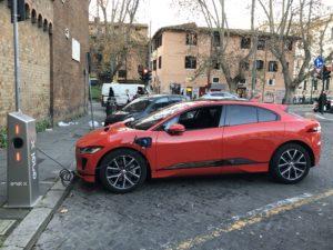 Ricarica Jaguar I-Pace trastevere