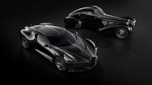 Bugatti Voiture Noire e Type 57C Atlantic