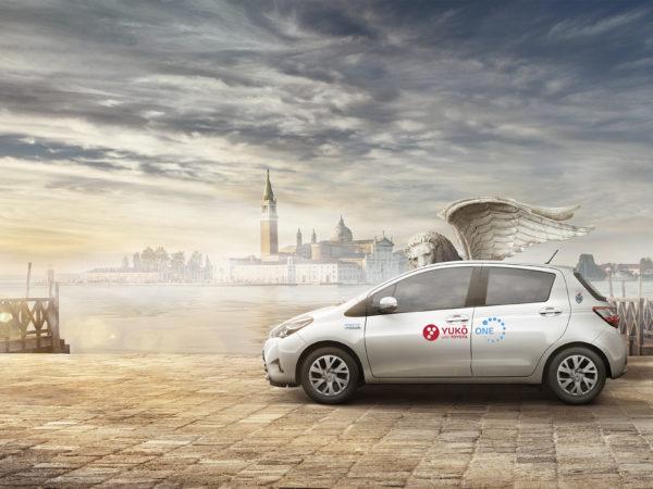 Toyota Yuko Venezia panoramica