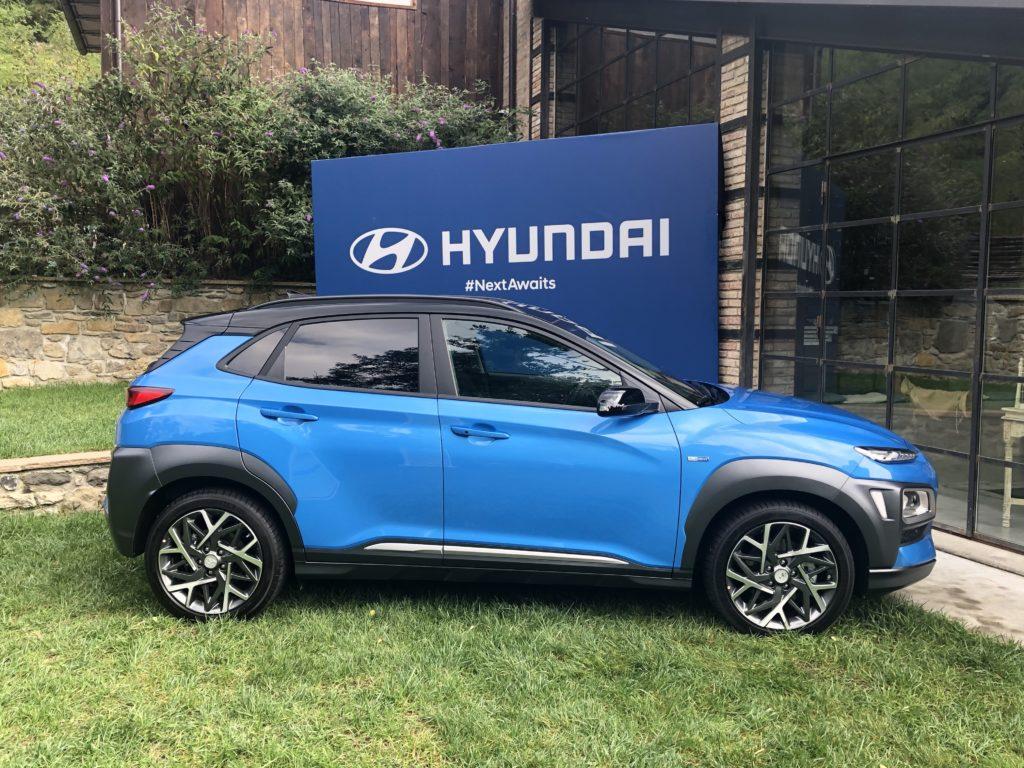 Hyundai Kona Hybridvista laterale