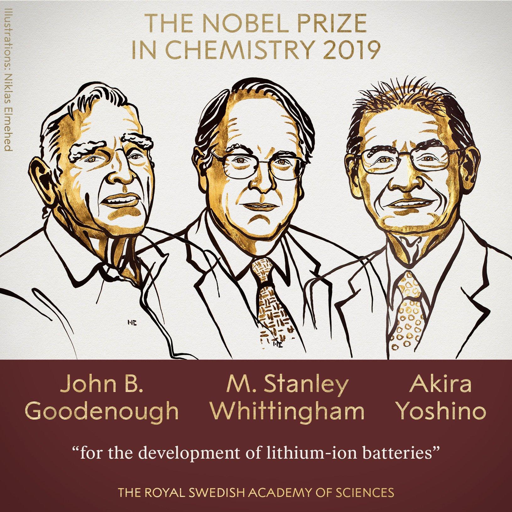 Ioni di Litio, la batteria da Premio Nobel per la Chimica