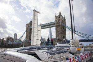 Catamarano idrogeno torre di londra