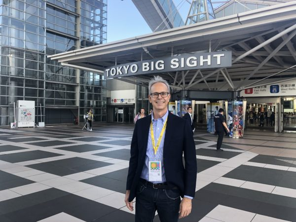 Fabio Orecchini a Tokyo Big Sight 2019
