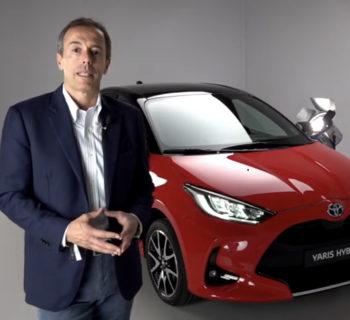 Toyota Yaris Hybrid 2020,  Mauro Caruccio AD Toyota Italia – Video Opinione