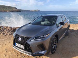 Lexus Rx Hybrid 2020 foto davanti