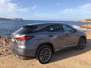 Lexus Rx Hybrid 2020 posteriore
