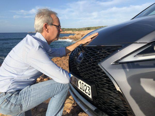 immagine faccia a faccia Lexus Rx Hybrid 2020