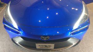 Toyota Mirai muso da sopra