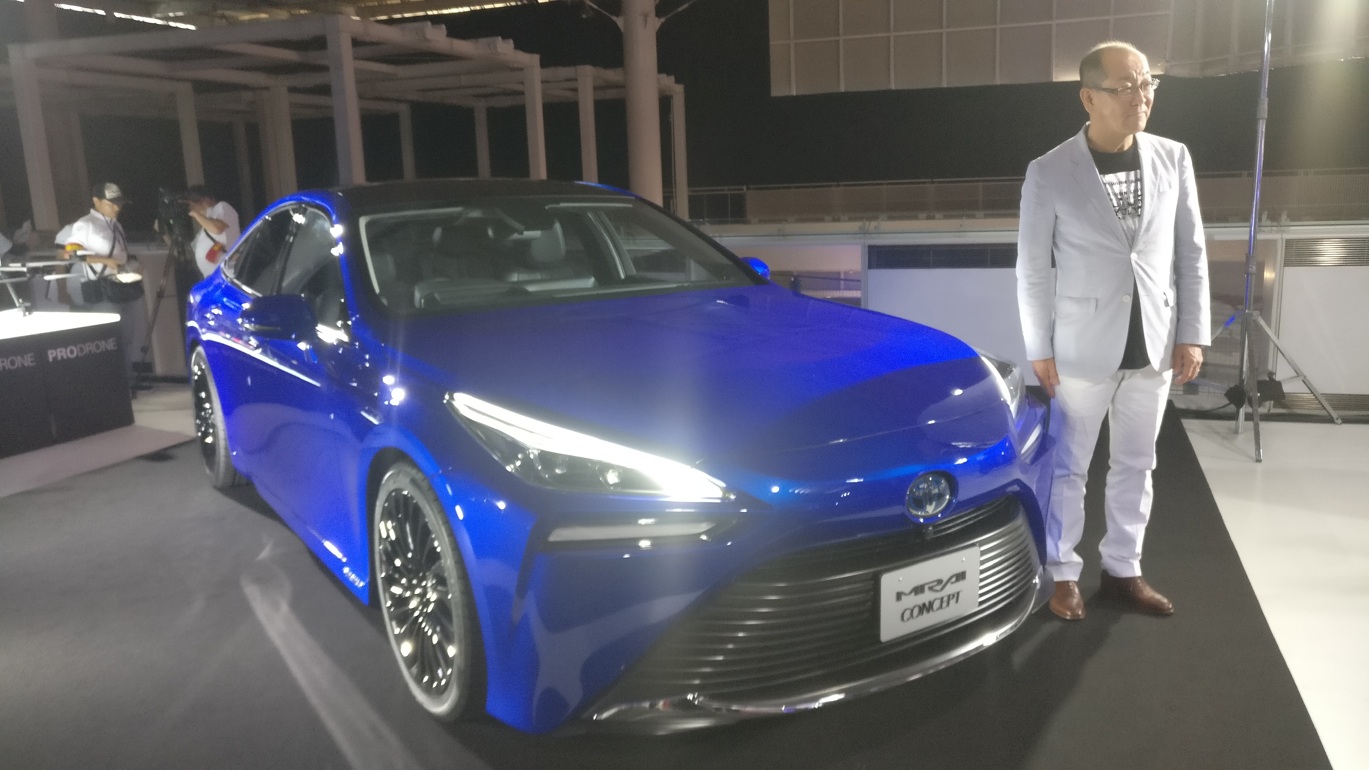 Toyota Mirai, il futuro a idrogeno è posteriore secondo Yoshikazu Tanaka