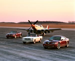 Ford Mustang & P-51