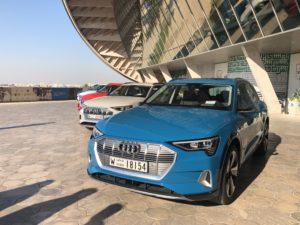 Audi e-tron a Masdar city 2018