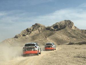 Audi e-tron livrea concept off-road Abu Dhabi 2018