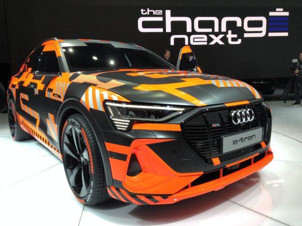 Audi e-tron next salone Ginevra 2019
