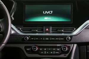 Kia Niro display Sistema UVO connect