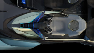 Lexus LF-30 posto guida