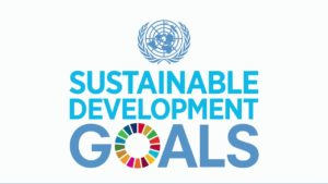 Sustainable development goals 2030 UN logo