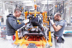 Linea produzione Audi