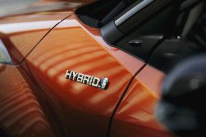 Scritta Hybrid Toyota C-HR 2020
