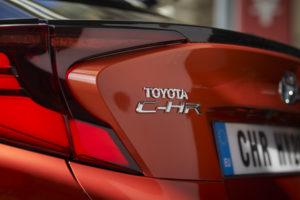 Scritta posteriore Toyota C-HR 2020